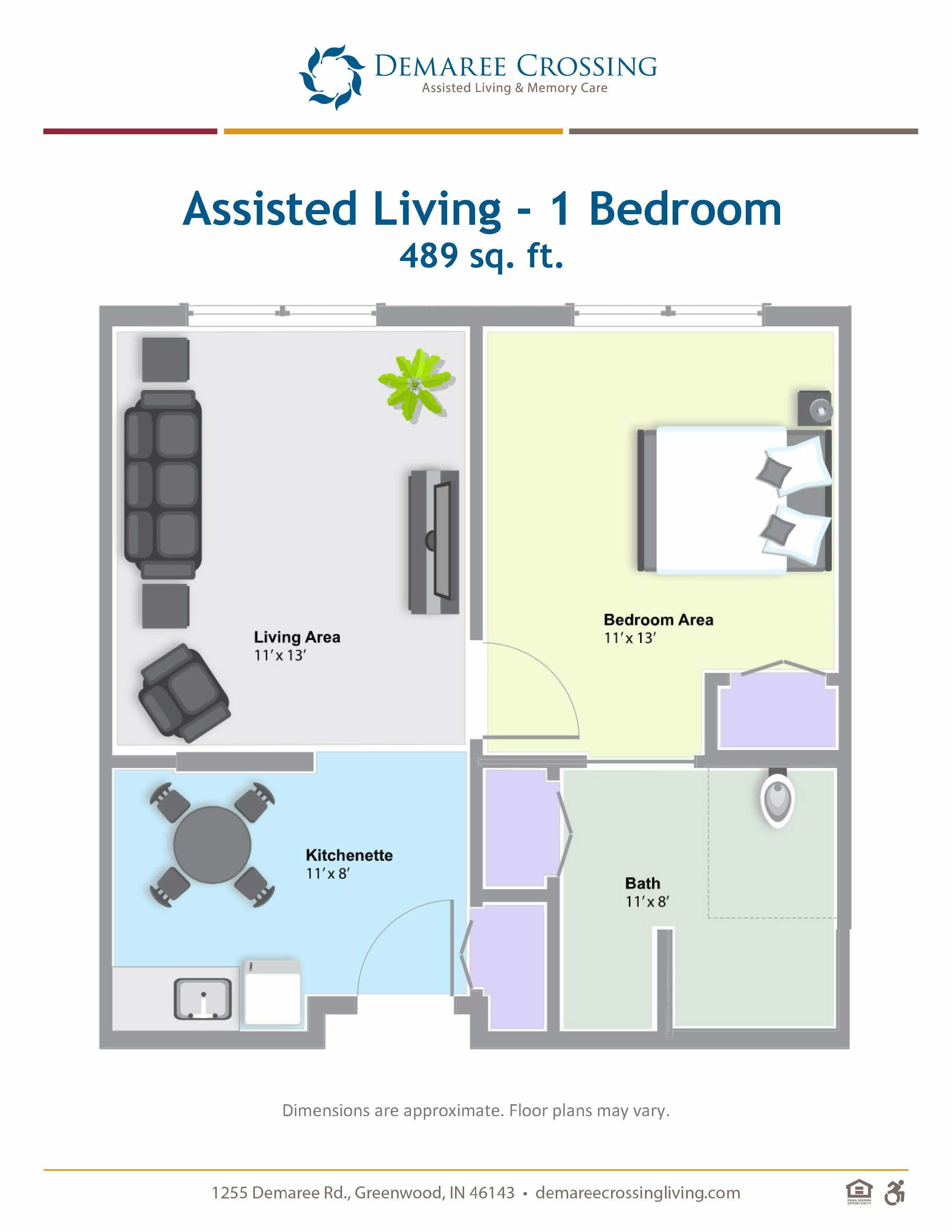 Demaree_Floor Plans_AL 1 bedroom