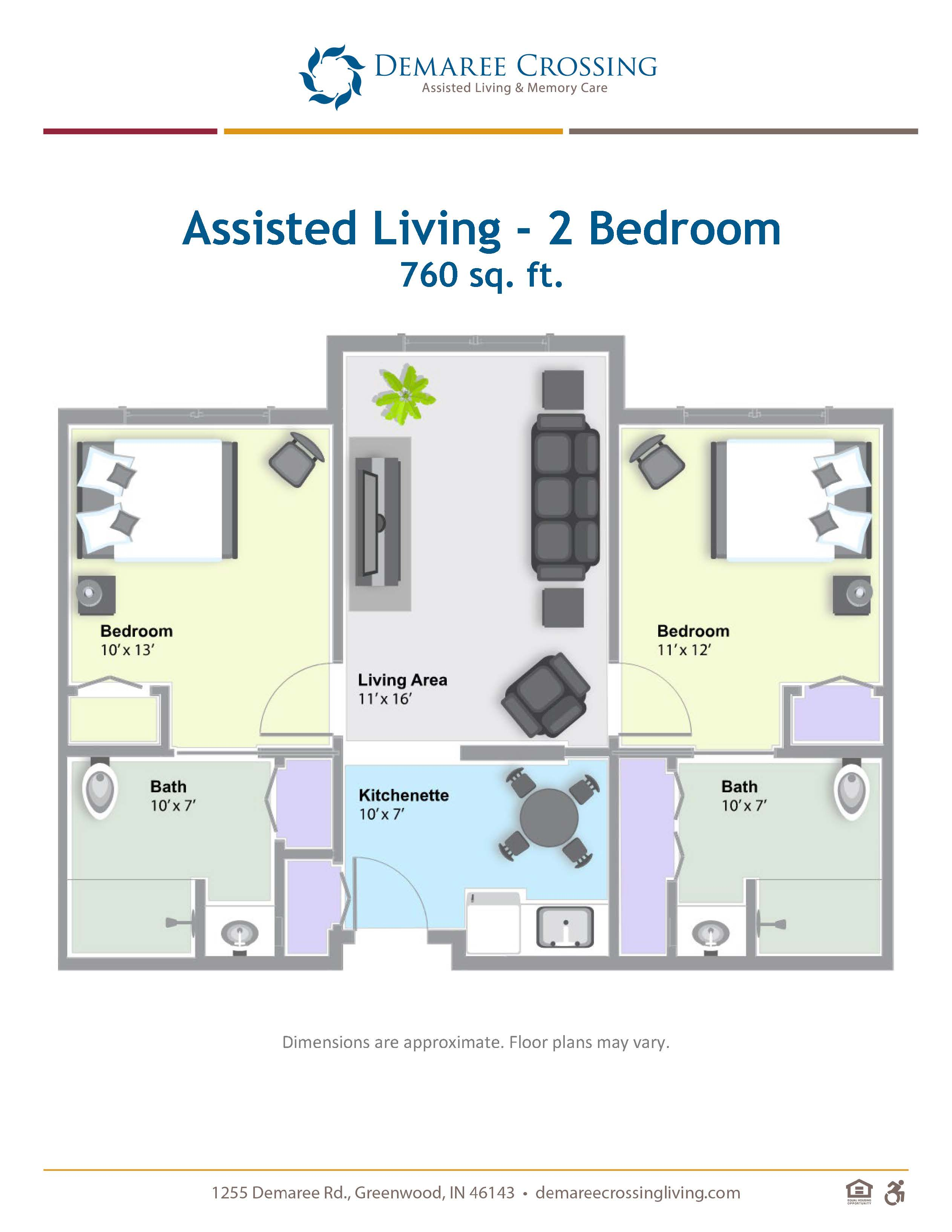 Demaree_Floor Plans_AL 2 bedroom